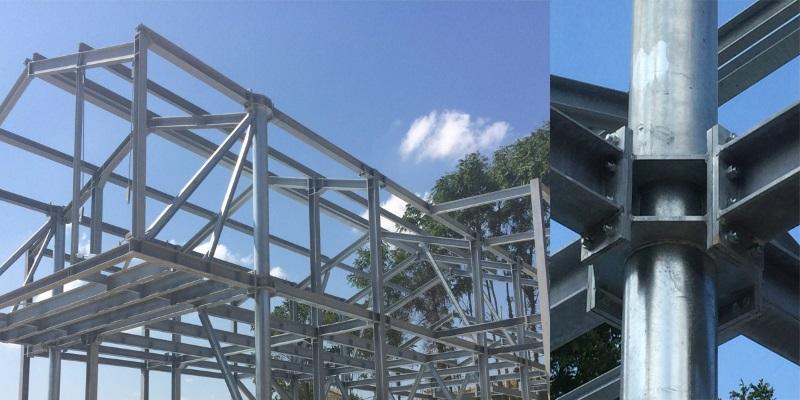 Ricostruzione antisismica in acciaio nelle zone for Casa legno antisismica costo