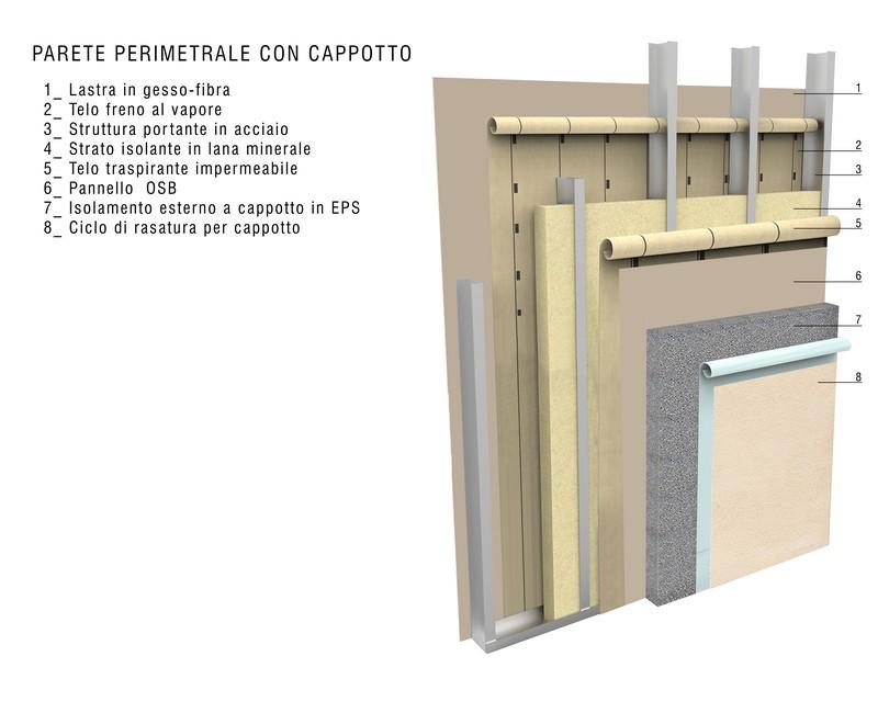 Totale assenza di muffe e umidit case prefabbricate for Case prefabbricate in acciaio e vetro