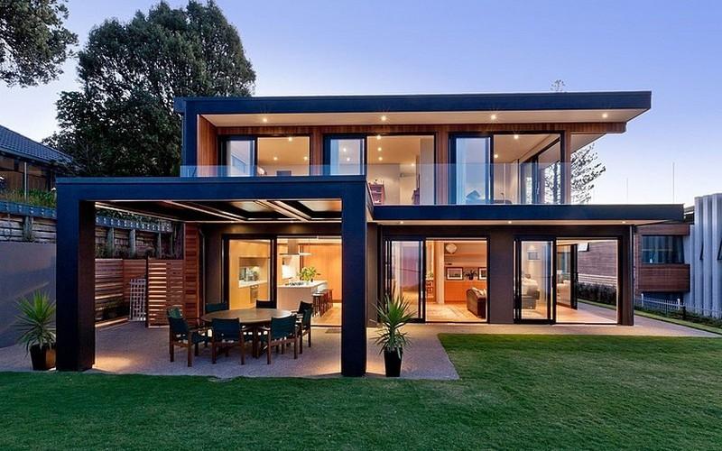Differenza tra bioedilizia in acciaio e legno case - Casa in acciaio e vetro ...