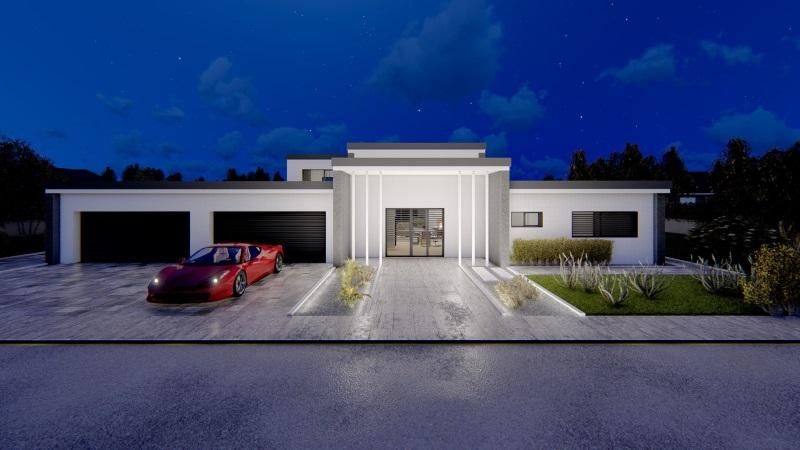 Ville prefabbricate di lusso in acciaio case for Case moderne lusso